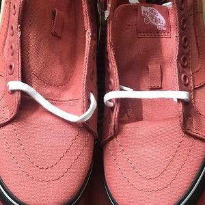 57ecc2ca39 Vans Shoes - Vans Sk8 Hi Reissue Black Outsole Faded Rose Black